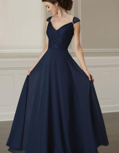 Draped lace bodice lace cap sleeve