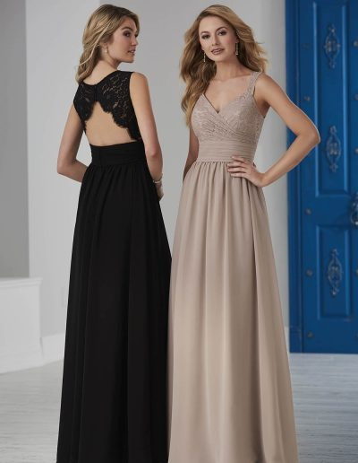 Draped, lace bodice pleated chiffon belt