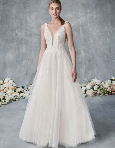 Embroidered Cotton Lace:Soft Tulle:Sequined Tulle:English Net 44