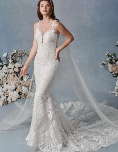 Embroidered Cotton Lace:Sparkle Tulle:English Net:Stretch Lining 66